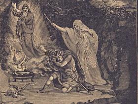 Saúl y la bruja de Endor