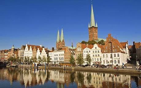 Lübeck - här tillbringade jag min tonårstid 1970-1978