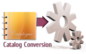 Catalog conversion and digitization