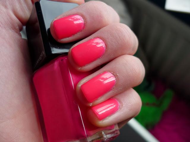 Collide Illamasqua Nail Polish Swatch