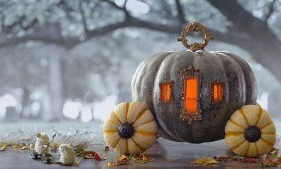 Halloween pumpkin Cinderella filmprincesses.blogspot.com
