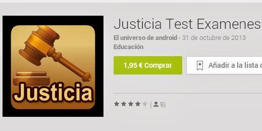 Justicia Test Examenes Pro