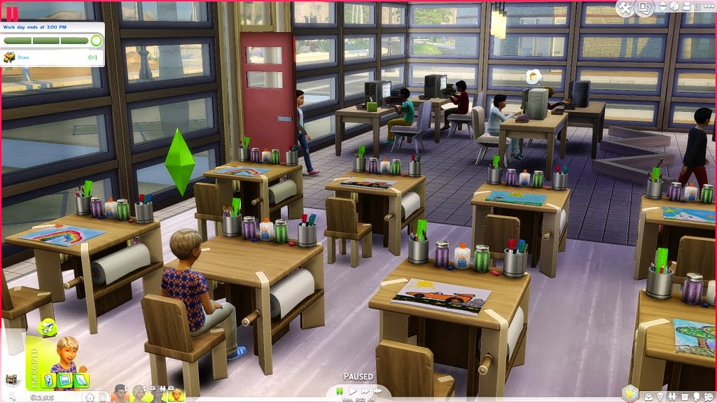 sims 4 mod functional school,sims 4 got to school