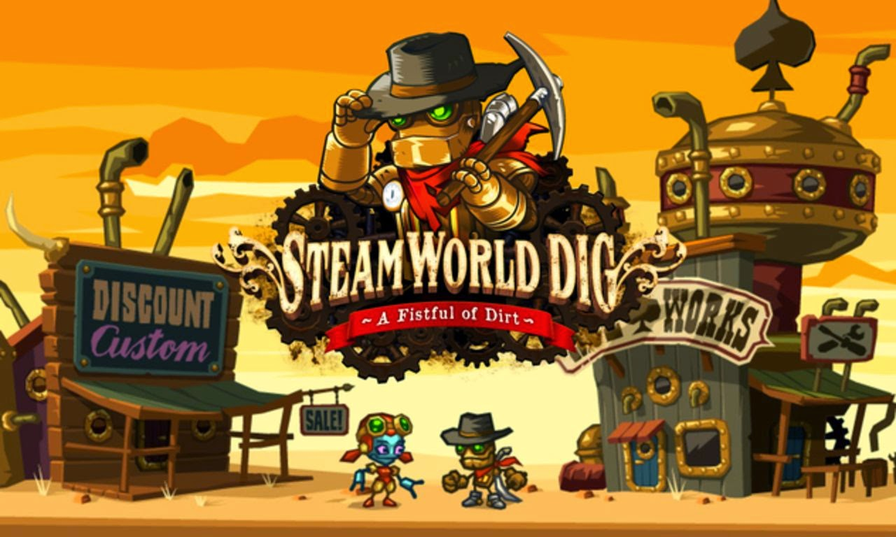 Steamworld Dig arriva su Wii U.