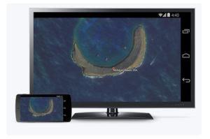 trasmetti lo smartphone in TV
