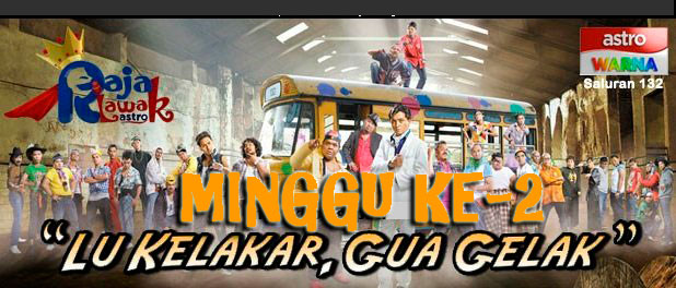 Youtube Video Raja Lawak Musim Ke-6 Minggu 1