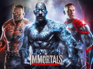 WWE IMMORTALS Apk+Data Mod Unlimited For Android