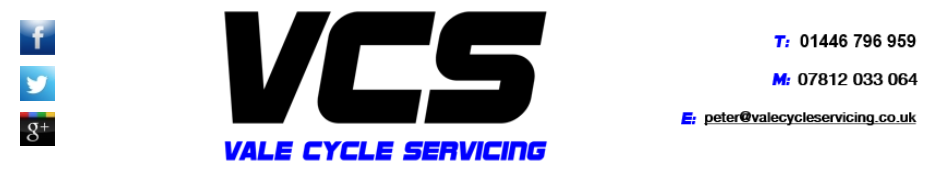 Vale Cycle Servicing (VCS)