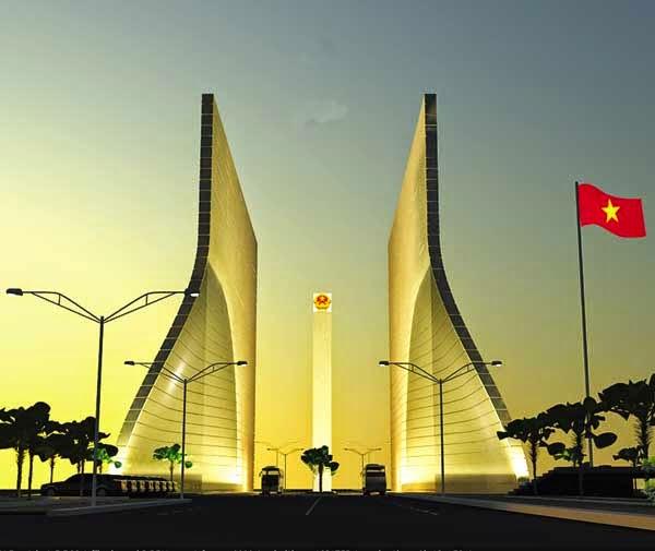 Thông báo thi tuyển phương án kiến trúc cửa khẩu quốc tế Tịnh Biên