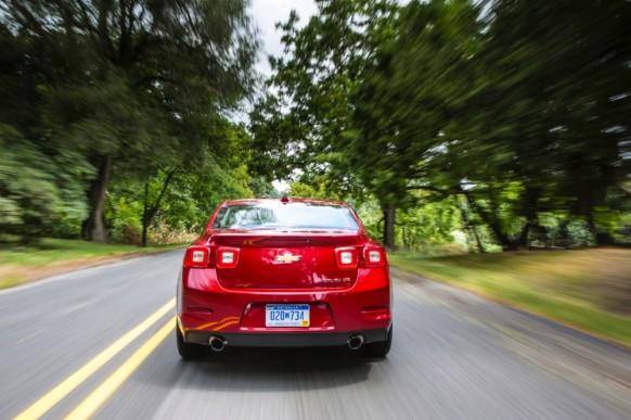 2014 Chevrolet Malibu Surprise Debut