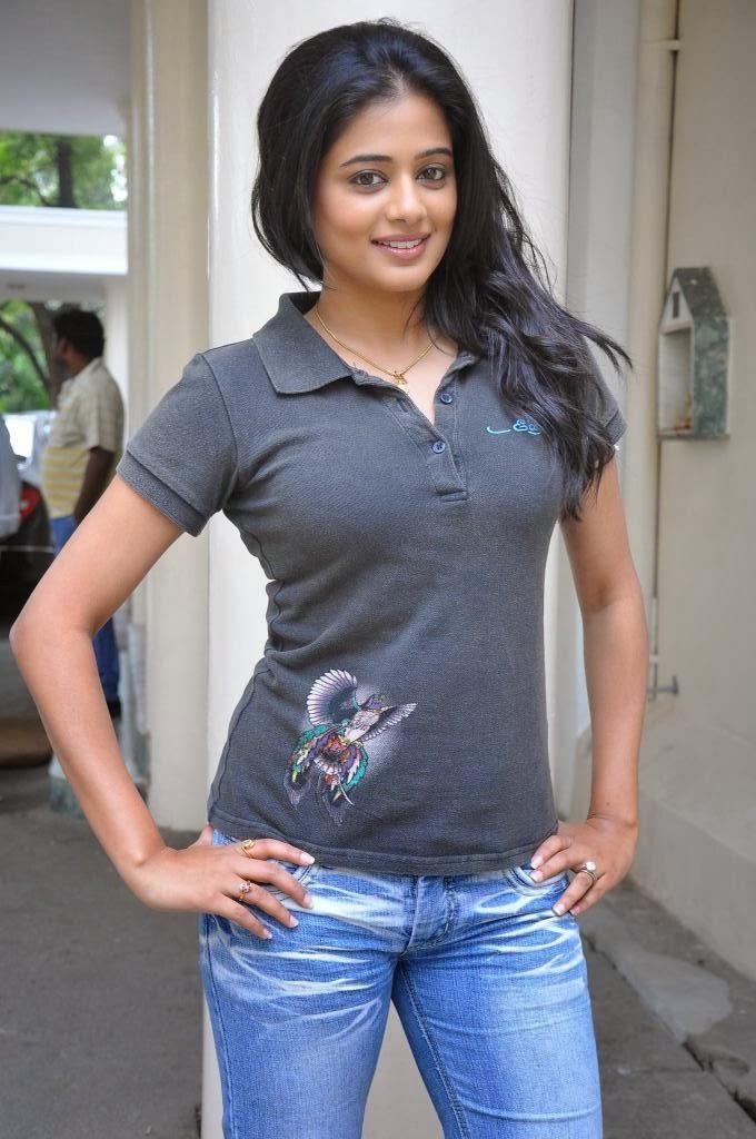 Priyamani Photos in Jeans at Chandi Movie Press Meet