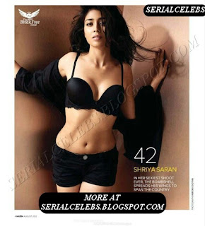 Shriya Saran hot in bra