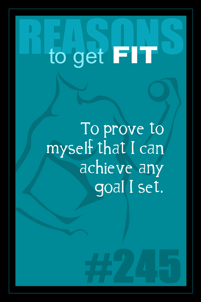 365 Reasons to Get Fit #245