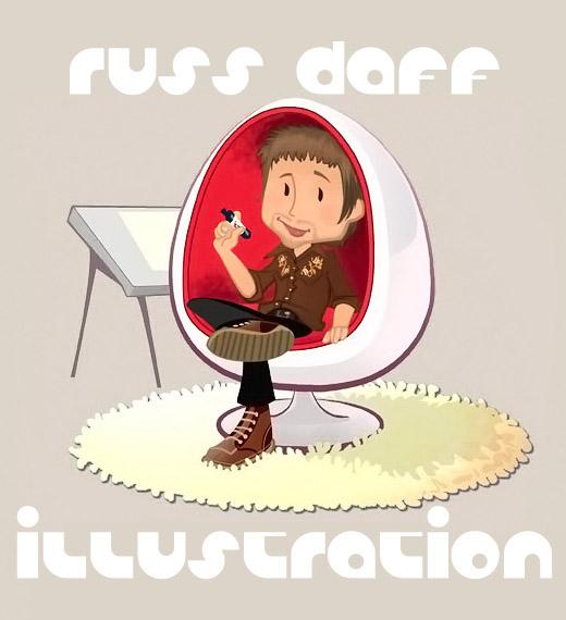 Russ Daff-illustration