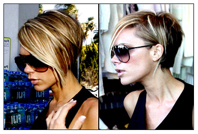 Lady Nape: Victoria Beckham (Posh Spice) has the best bob hairstyle of ...