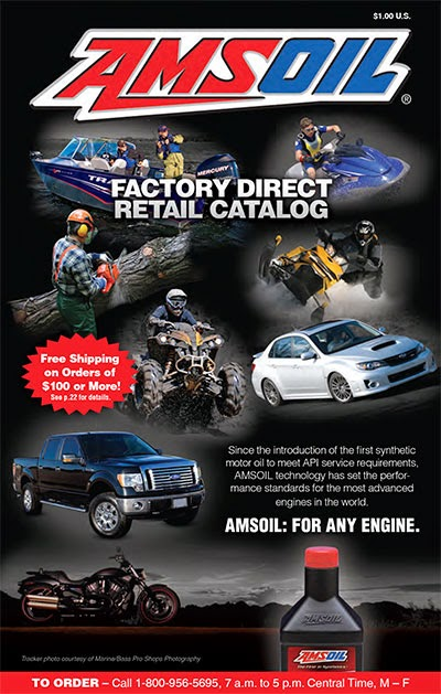 Download the<br>AMSOIL e‑Catalog