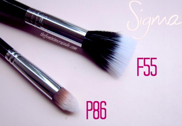 Sigma F55 and P86