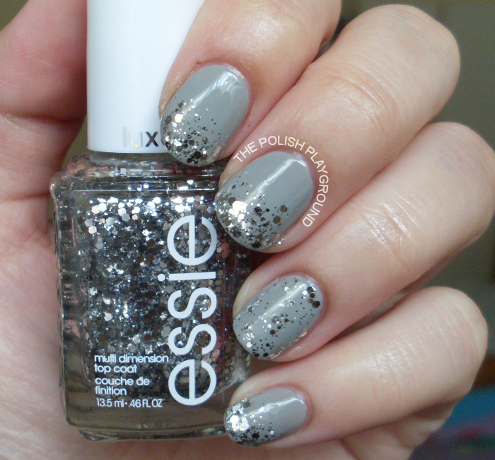 Essie Gold Glitter Glitter Gradient With Essie