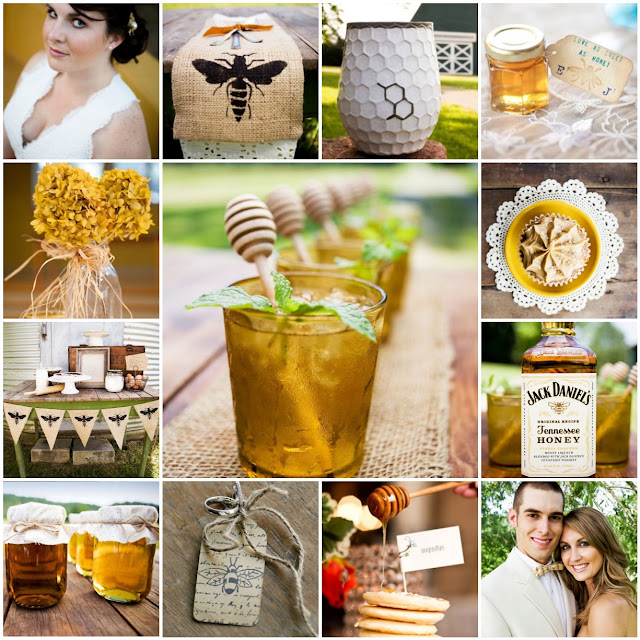 honey bee wedding inspiration