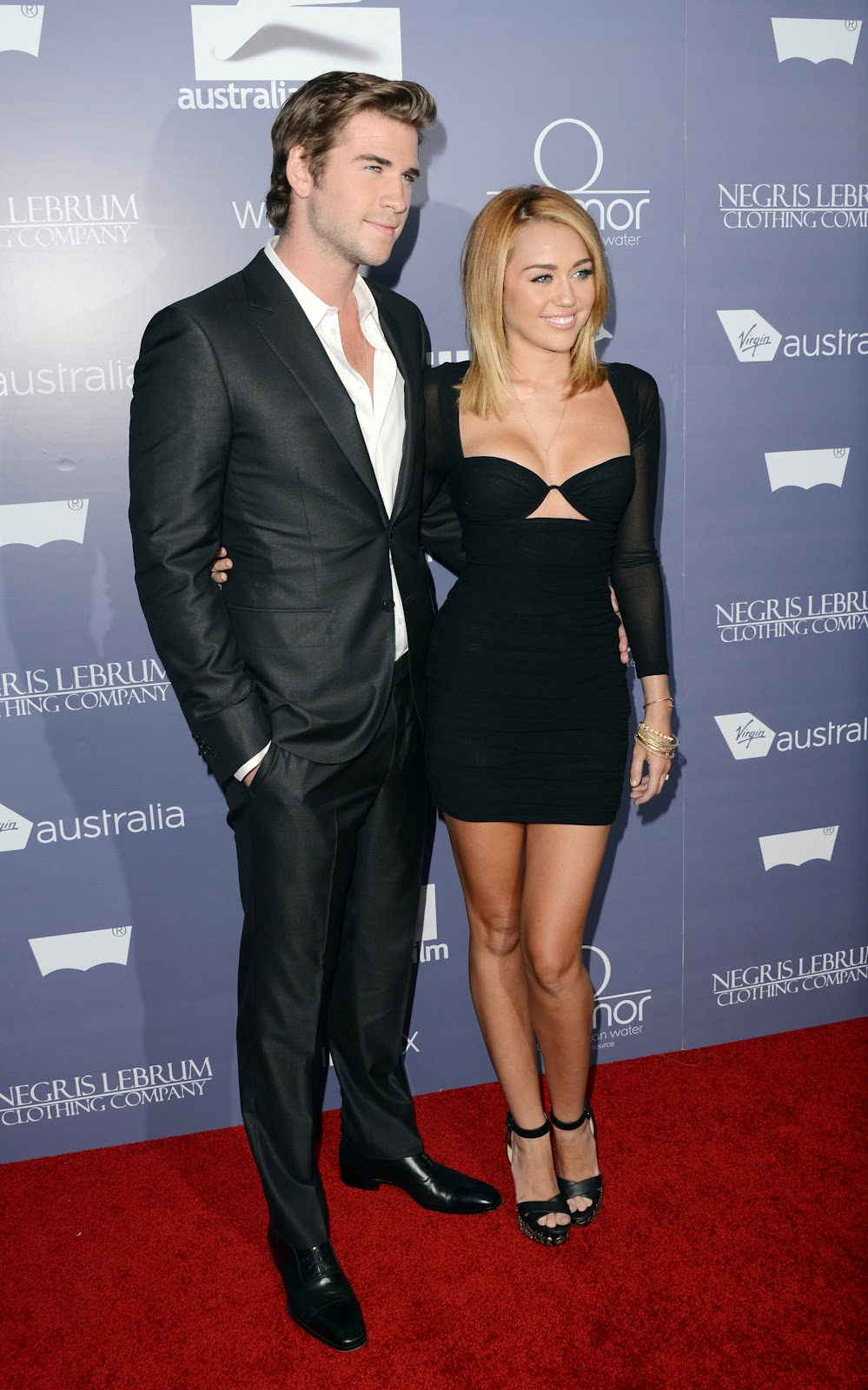 miley cyrus at australians in film awards 2012 just fab