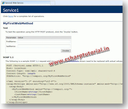 C#.Net How To: Create a Web Service in C#.net Visual Studio 2010 | C# ...