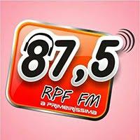 RÁDIO RPF FM<br>A PRIMEIRÍSSIMA