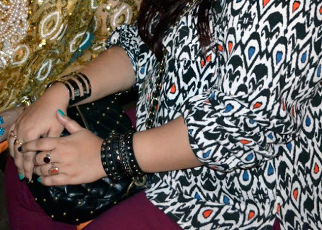 studded bracelets