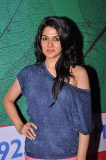 Actress Sakhi Chowdary Pictures in Tight Jeans at Green Ganesh 0005.jpg