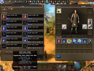 Drakensang Online - Potion Trader