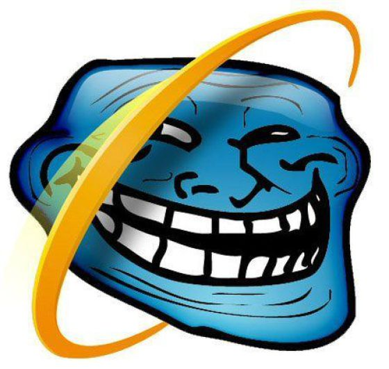 troll internet explorer