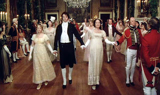 Darcy and Elizabeth dancing at Netherfield Ball
