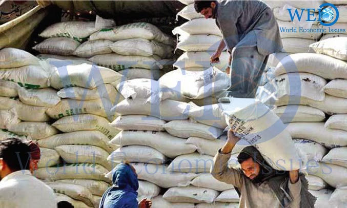 Wheat imports up as world prices fall
