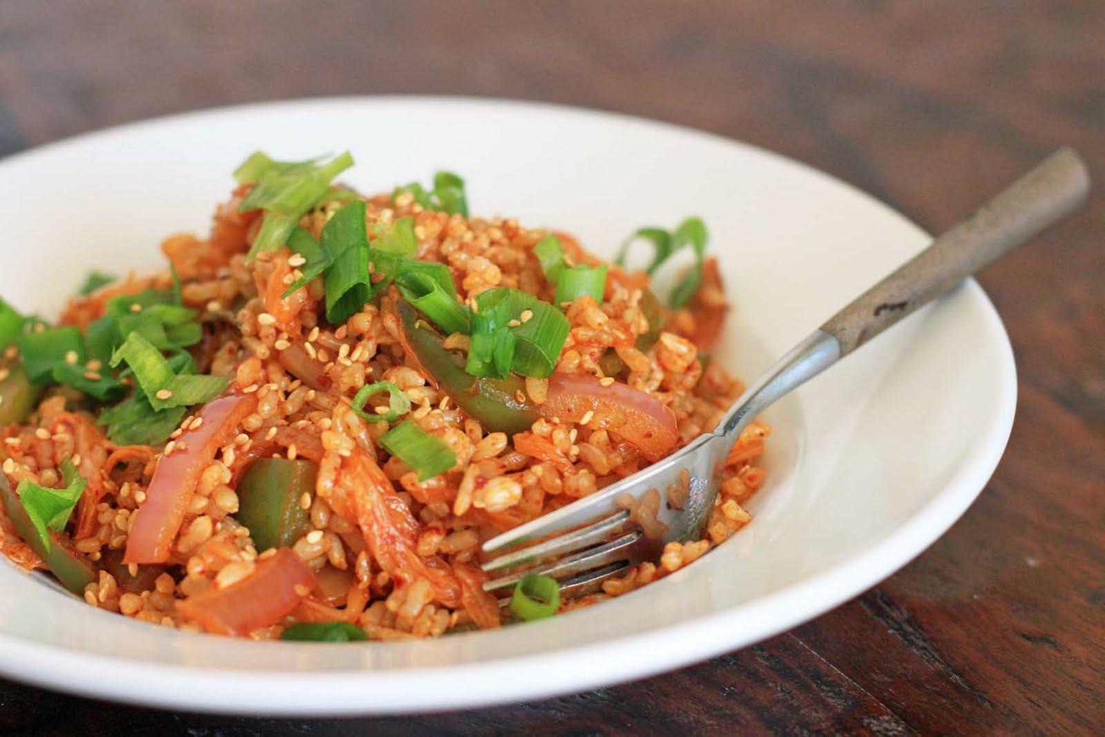 Kimchi Fried Rice | Girl Cooks World