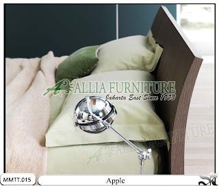 Head board Tempat Tidur Minimalis Modern Apple