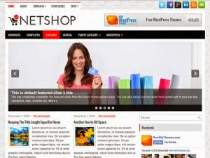 NetShop - Free Wordpress Theme