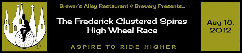 The Frederick Clustered Spires High Wheel Race