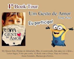Book Tour do livro Um Gesto de Amor - Tony Ferr