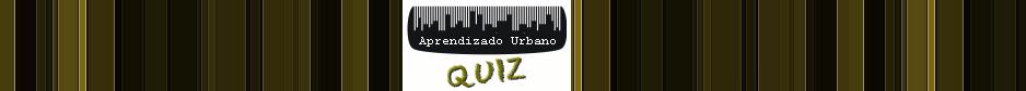 Quiz - Aprendizado Urbano