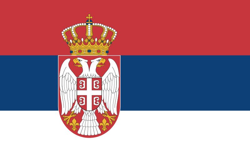 Bandera rojo azul blanco y escudo - Imagui