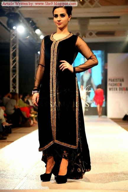 Dyumns Dresses at Pakistan Fashion Show