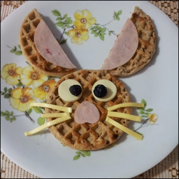 coelho de waffle