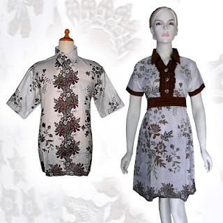 PO A42 MODEL BAJU BATIK WANITA MODERN