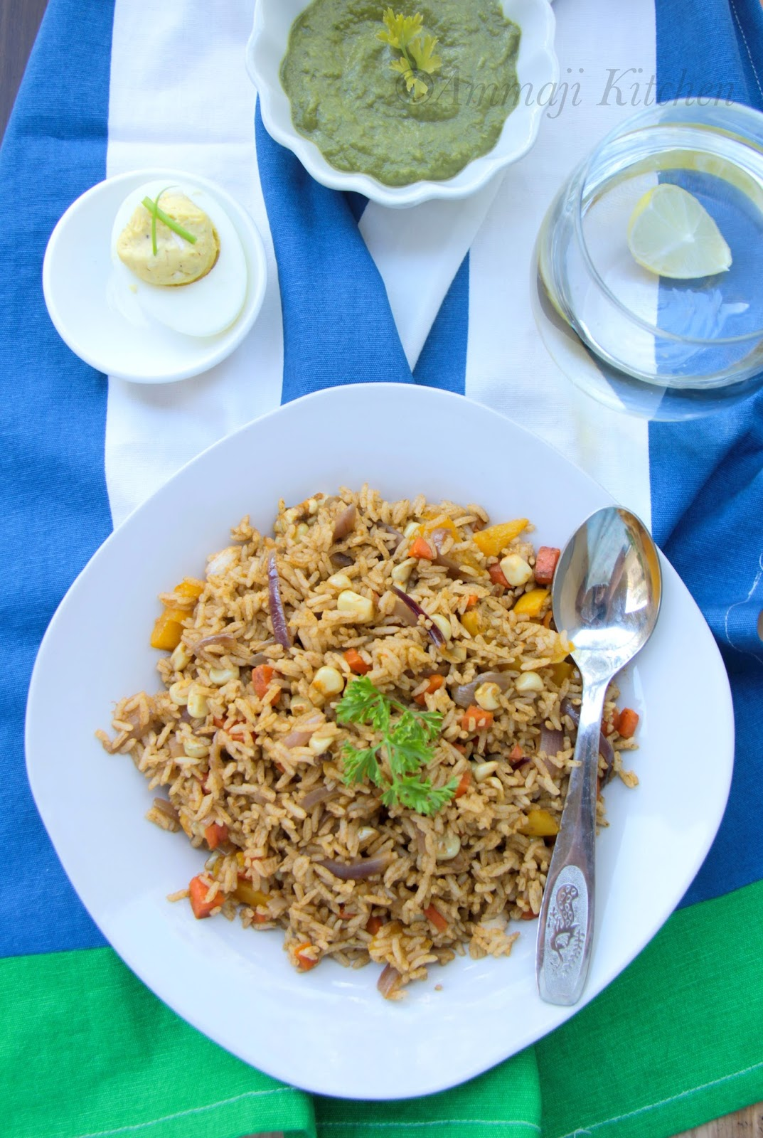 Arroz Con Verduras ~ Peruvian Cilantro Rice | Indian Food Recipes ...