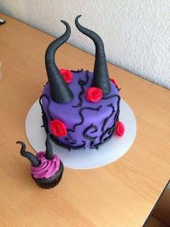Tortas Decoradas con Malefica