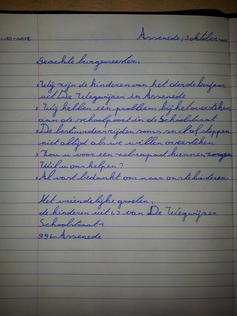 Wegwijs L3: Een zakelijke brief schrijven