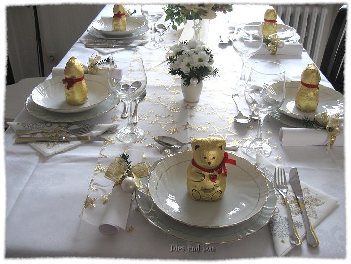 Tischdeko weihnachten 2012  Dies und Das: Tischdekoration Weihnachten 2012