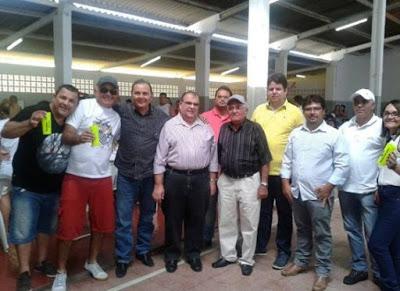 Dr. Júnior e lideranças de Ouro Velho se reúnem com RG