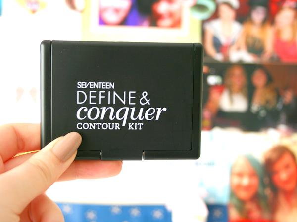Seventeen Define & Conquer Contour Kit ♡