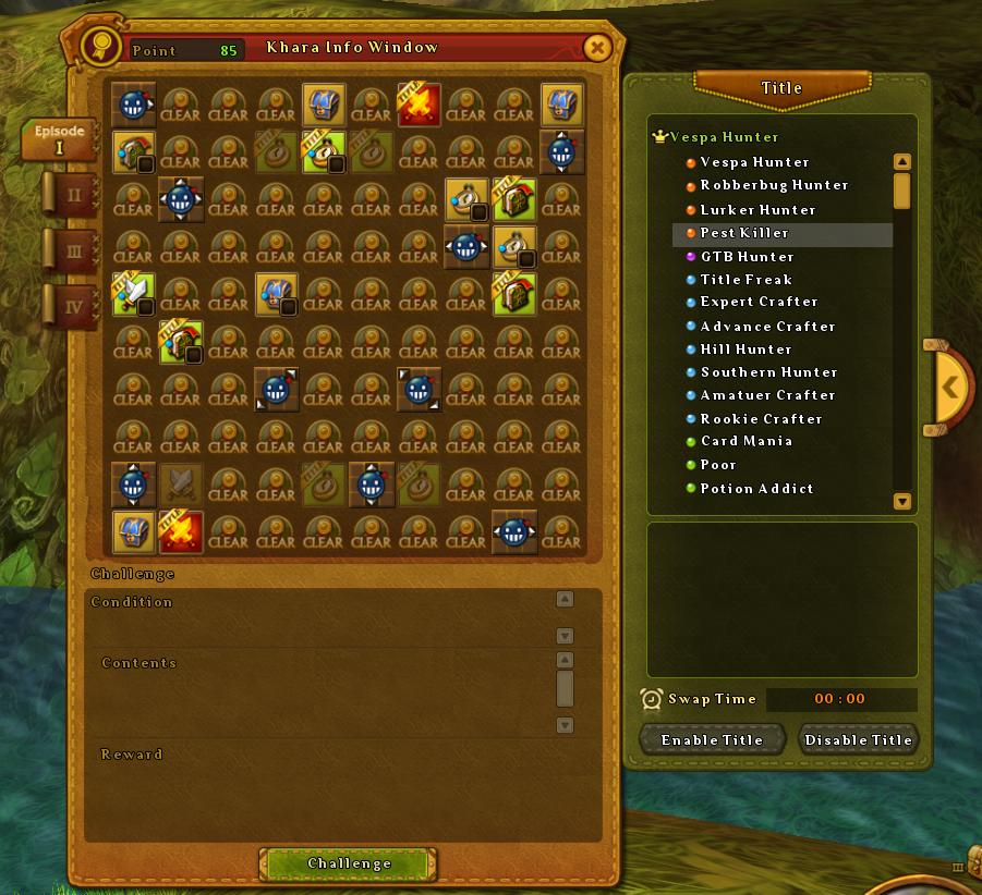 Ragnarok Online 2 title system