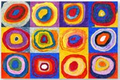 Kandinsky Circles Mural $5